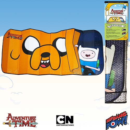 Adventure Time Finn Driving Sunshade