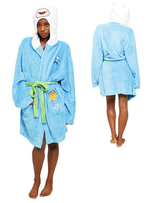 Adventure Time Finn Robe