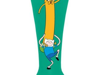 Adventure Time Finn and Jake Fluted Glass