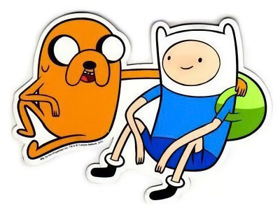 Adventure Time Finn and Jake Magnet