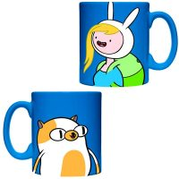 Adventure Time Fionna and Cake Ceramic Mug
