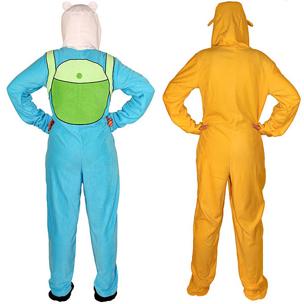 Adventure Time Footed Pajamas