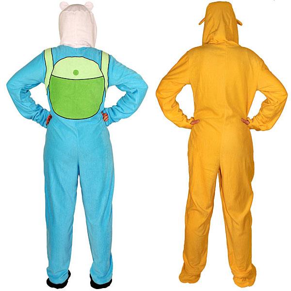 Adventure Time Footed Pajamas