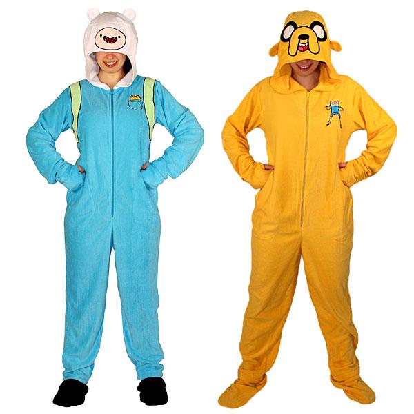 Adventure Time Footie Union Suit