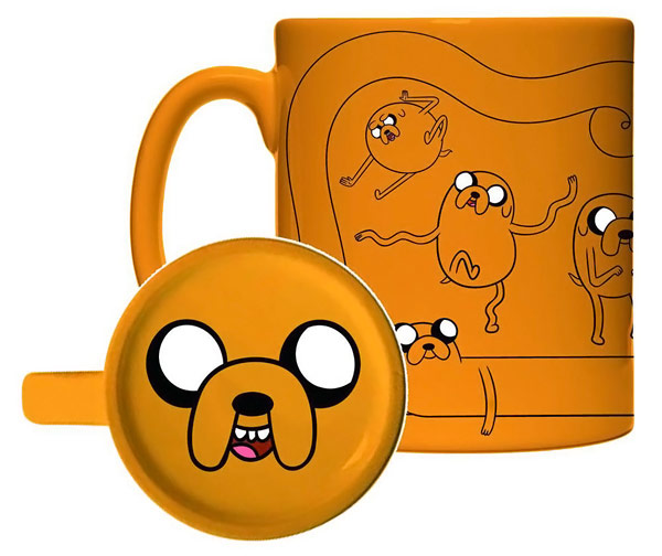 Adventure Time Jake All Over 11 oz  Ceramic Mug