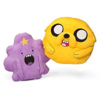 Adventure Time Jake and Lumpy Space Princess Cuddle Pillows
