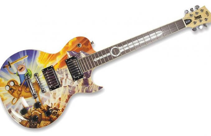Adventure Time Limited Edition Guitar