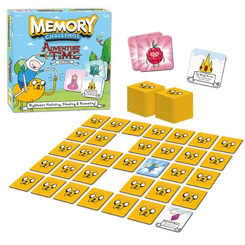 Adventure Time Edition Memory Challenge Game