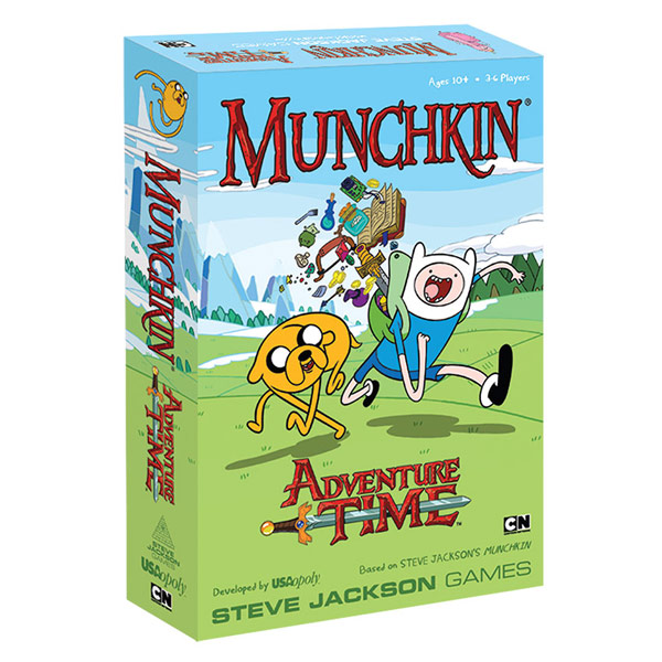 Adventure Time Munchkin Playing Card Game