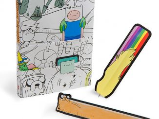 Adventure Time Notebook and Accessory Set
