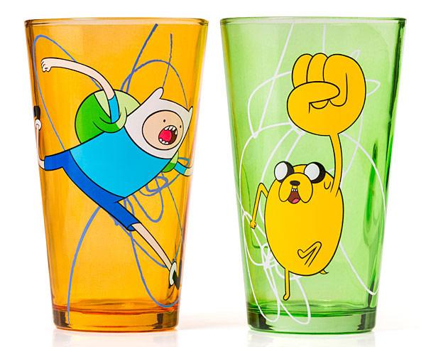Adventure-Time-Pint-Glass-Set