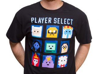 Adventure Time Player Select Tee