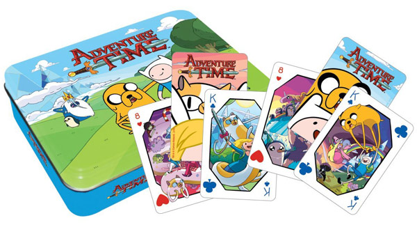 Adventure Time Playing Card with Tin