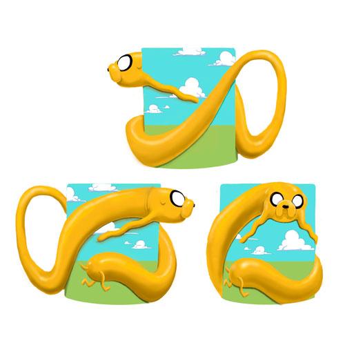 Adventure Time Stretched Jake 20 oz. Molded Mug