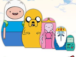 Adventure Time Wood Nesting Dolls - Set of 5