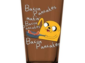 Adventure Time with Finn and Jake Bacon Jake Pint Glass