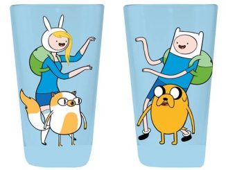 Adventure Time with Finn and Jake Finn and Fionna Pint Glass