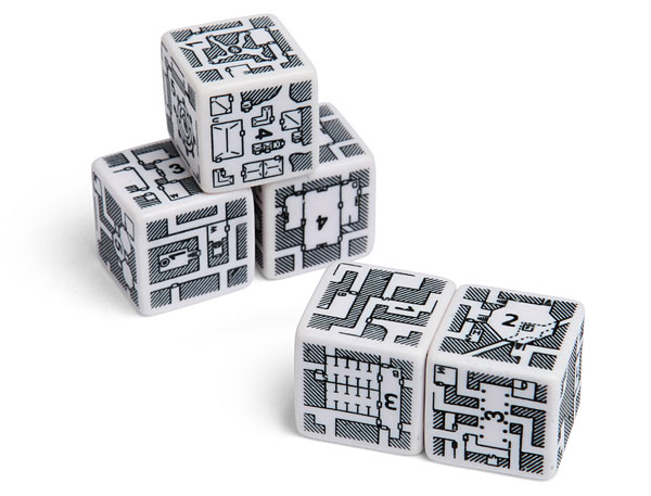 Adventurer Dungeon Building Dice Set