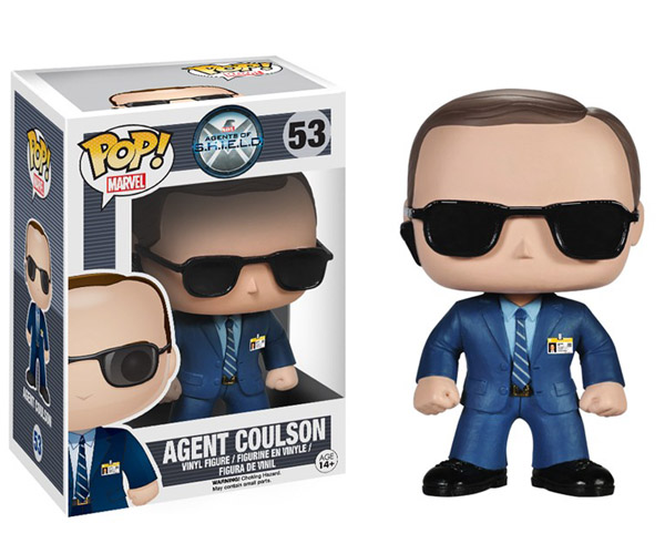 Agents of SHIELD Agent Coulson Pop Vinyl Figure