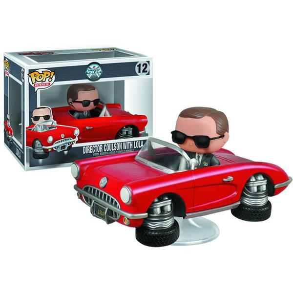 Agents of SHIELD Lola with Agent Coulson Pop Vinyl Vehicle