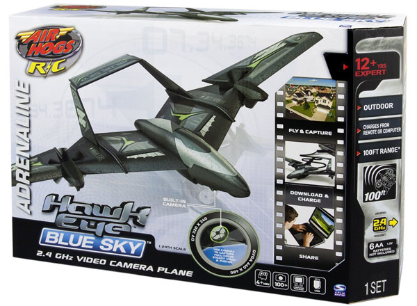 Air Hogs RC Hawk Eye Blue Sky