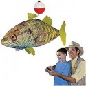 Air Swimmers Remote Control Inflatable Flying Bass Fish