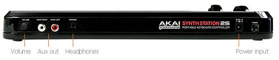 Akai SynthStation 25 Keyboard