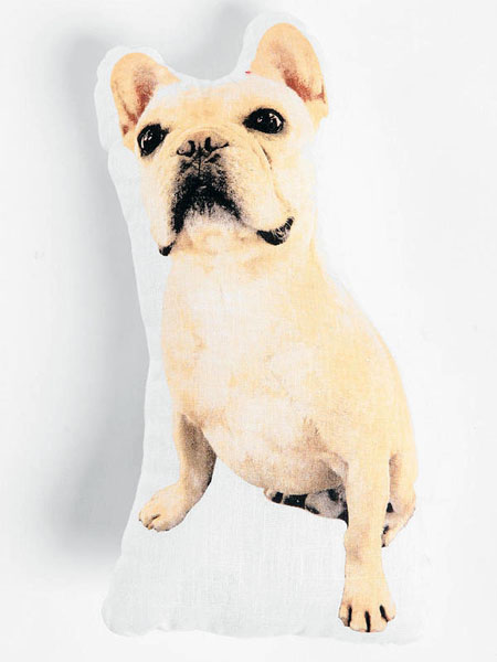 Albert The French Bulldog Pillow