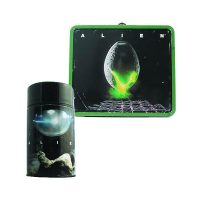 Alien Egg Distressed Lunch Box With Thermos