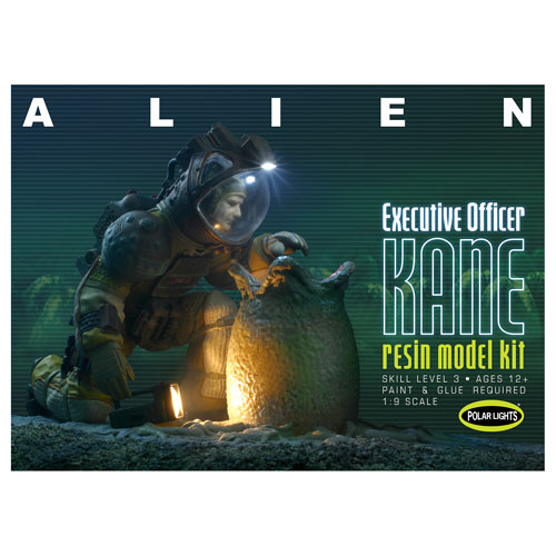 Alien Executive Officer Kane Model Kit