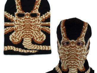 Alien Facehugger Ski Mask