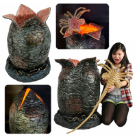 Alien Light-Up Egg and Facehugger Life-Size Foam and Latex Prop Replica