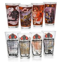 Alien Pint Glass Set
