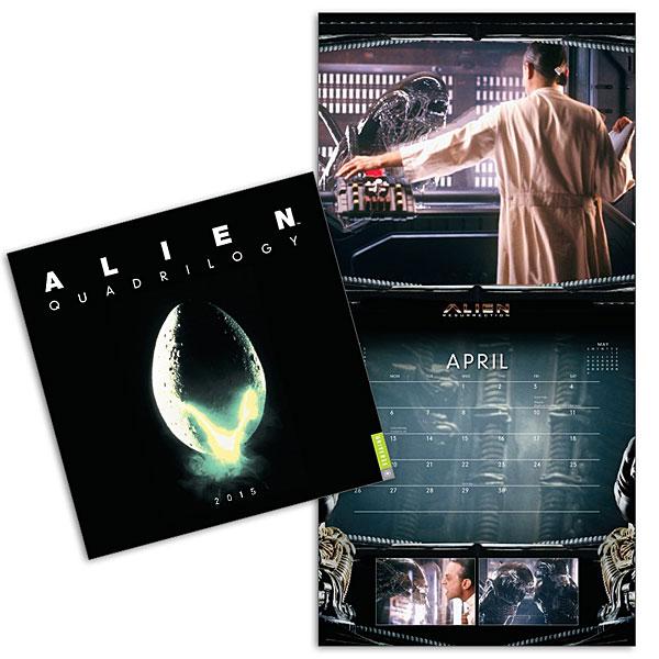 Alien Quadrilogy 2015 Calendar