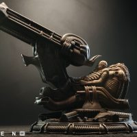 Alien Space Jockey Maquette left
