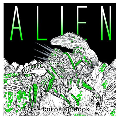 Alien The Coloring Paperback Book
