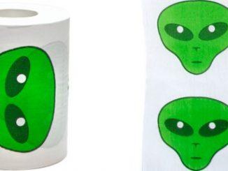 Alien Toilet Paper