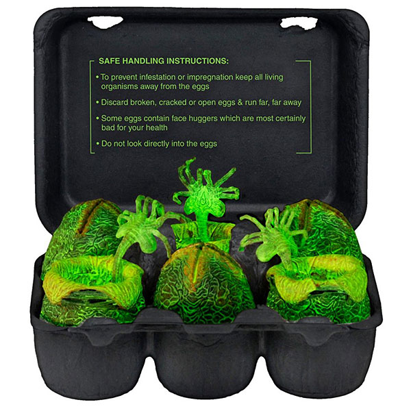 Alien - Xenomorph Glow-in-the-Dark Egg Set