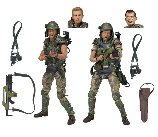 "Aliens 7"" Scale Action Figures Colonial Marines 30th Anniversary 2-Pack"