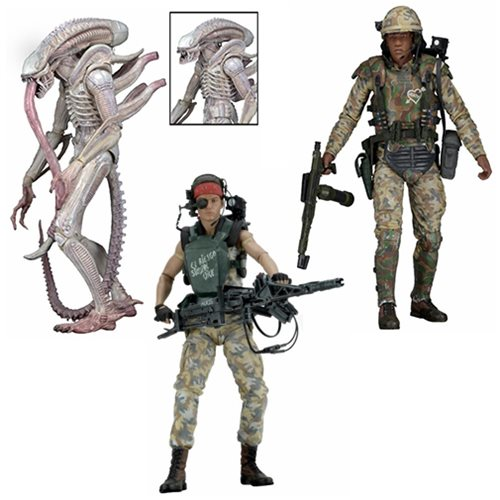 Aliens 7-Inch Scale Series 9 Action Figure Set
