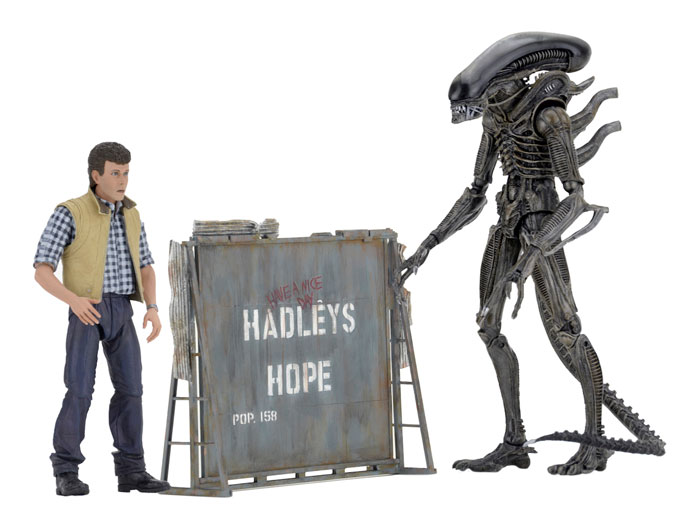 Aliens Hadley's Hope Action Figure Set