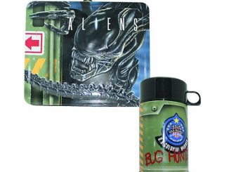 Aliens Lunch Box With Thermos