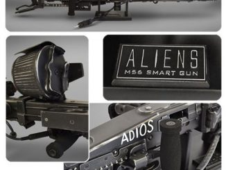 Aliens M56 Smartgun Prop Replica