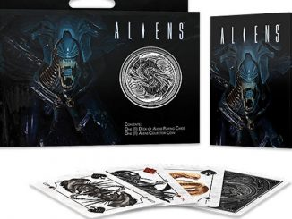 Aliens Playing Cards Gift Set