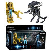 Aliens ReAction 3 3 4-inch Retro Action Figure 3-Pack