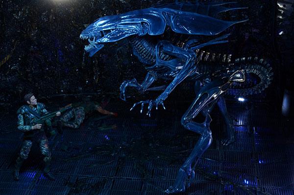 Aliens Xenomorph Queen Ultra Deluxe Boxed Action Figure