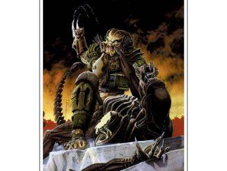 Aliens vs. Predator Blood Time by Phill Norwood Paper Giclee Art Print