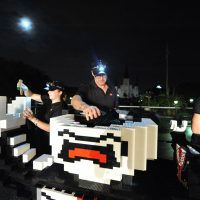 All-Night New Orleans LEGO Vampire Build
