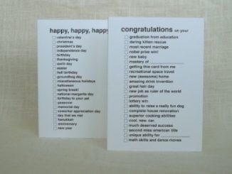 All Purpose Congratulations Greeting Card
