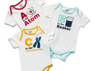 Alphabet Science 3-pack Bodysuit Set